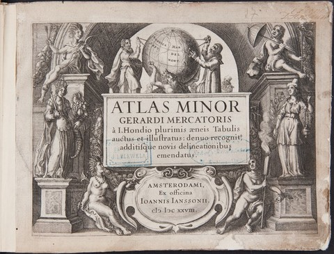 ATLAS MINOR GERARDI MERCATORISTypus orbis terra...