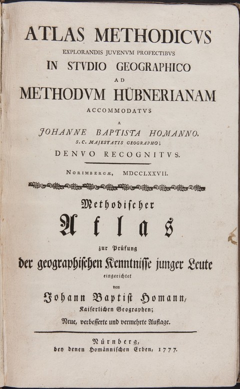 ATLAS METHODICVSAtlas methodicusMethodischer At...