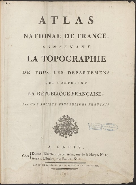 ATLAS NATIONAL DE FRANCEDépartement de la DyleD...