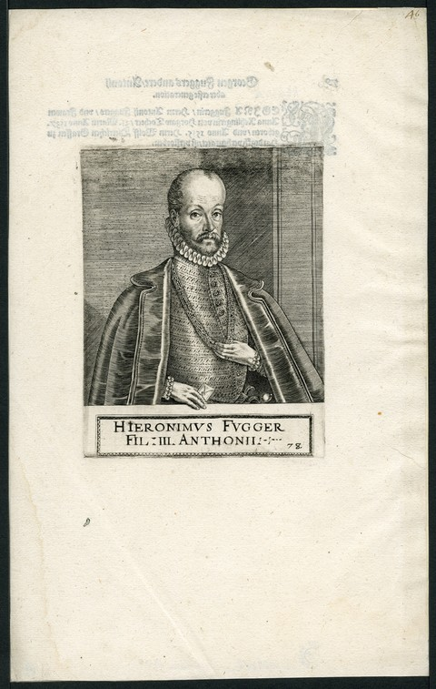 Hieronimus Fugger fil III Anthonii