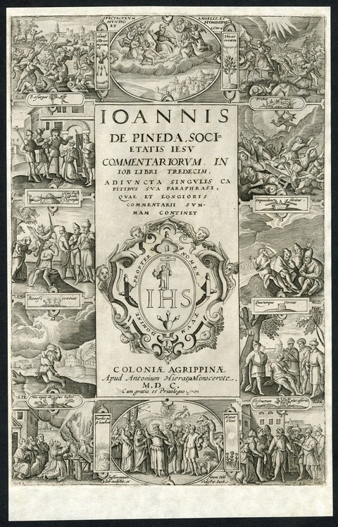Joannis de Pineda, Societatis Jesu Commentariorum in Job Libri Tredecim
