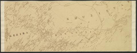 """Outlines of the countries between Delhi and Co..."